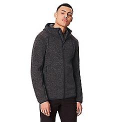 Regatta - Black 'Luzon' hooded fleece