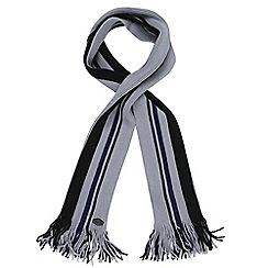 Regatta - Grey 'Balton' knit scarf