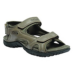 Regatta - Brown Haris sandals