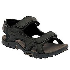 Regatta - Black haris sandal