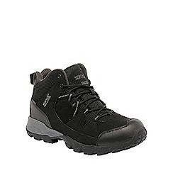 Regatta - Black holcombe walking boot