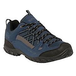 Regatta - Blue Edgepoint low walking shoe