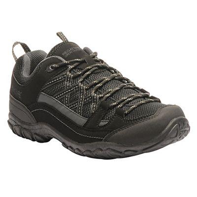 Regatta - Black blue edgepoint low walking shoe