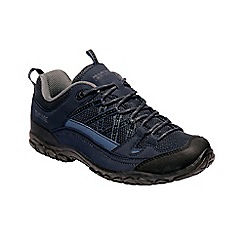 Regatta - Blue 'Edgepoint' low walking shoes