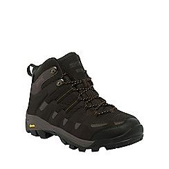 Regatta - Grey/green burrell trail walking boot