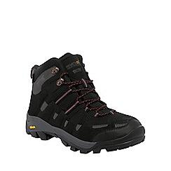 Regatta - Black/grey burrell trail walking boot