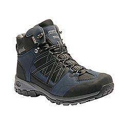 Regatta - Blue 'Samaris' mid hiking boot