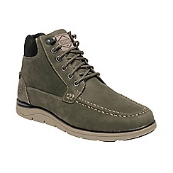 Regatta - Green 'Dens haw' leather boots