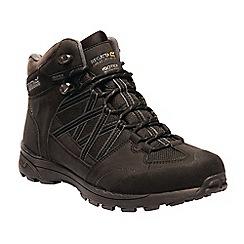 Regatta - Black 'Samaris' walking boots