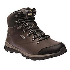 Regatta - Brown 'kota leather' walking boots
