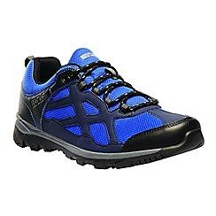 Regatta - Blue 'kota crux' low walking shoes