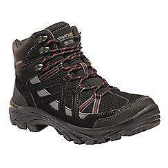 Regatta - Black 'Burrell' walking boots