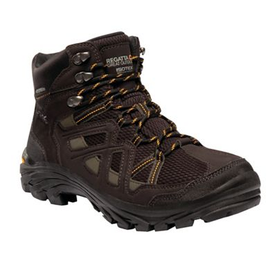 Regatta - Brown Brown Brown 'Burrell' walking boots 56689b
