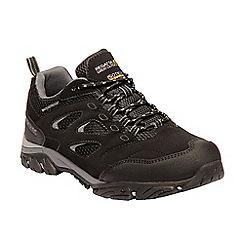Regatta - Black 'Holcombe' walking shoes