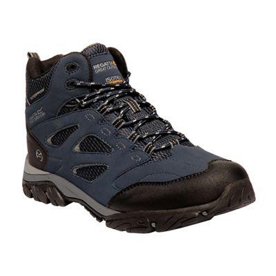 Regatta boots - Blue 'Holcombe' walking boots Regatta e68036