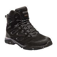 Regatta - Black 'Holcombe' high walking boots