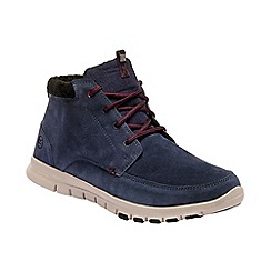 Regatta - Blue 'Marine' suede walking boots