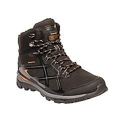 Regatta - Black 'kota thermo' walking boots