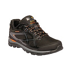 Regatta - Black 'kota thermo' walking shoes