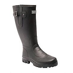 Regatta - Black 'Riving ton' wellington boots