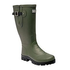 Regatta - Green 'Riving ton' wellington boots