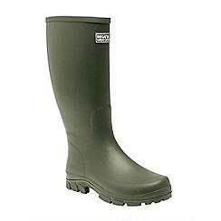 Regatta - Green 'Mumford' wellington boots