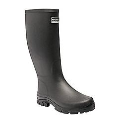 Regatta - Black 'Mumford' wellington boots