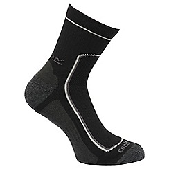 Regatta - Black 'Active' lifestyle 2 pack socks