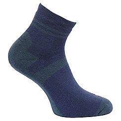 Regatta - Brown 'Active' lifestyle set of three sock pack