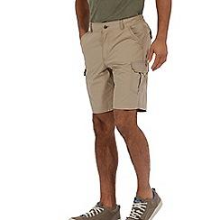 Regatta - Nutmeg cream delph showerproof shorts
