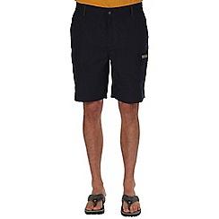 Regatta - Navy delph showerproof shorts