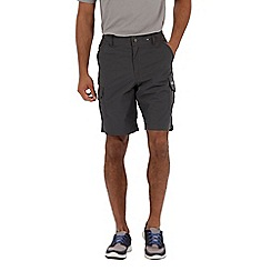 Regatta - Grey delph showerproof shorts