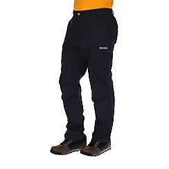 Regatta - Navy delph multi pocketed trousers