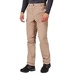 Regatta - Nutmeg cream mens delph trousers