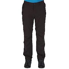 Regatta - Grey leesville zip off trousers