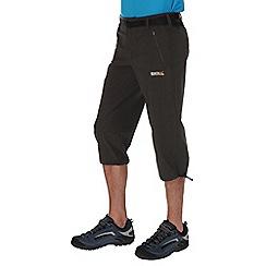 Regatta - Grey xert stretch capri trousers