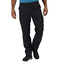 Regatta - Navy Lined delph trousers short length