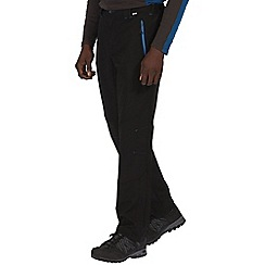 Regatta - Black grey questra long length trousers