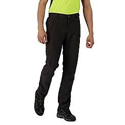 Regatta - Grey Leesville trousers regular length