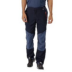 Regatta - Blue sungari' regular length trousers