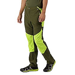 Regatta - Green sungari' regular length trousers