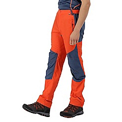 Regatta - Orange sungari' regular length trousers
