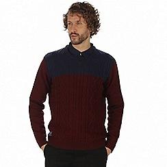 Regatta - Maroon 'Koby' sweater