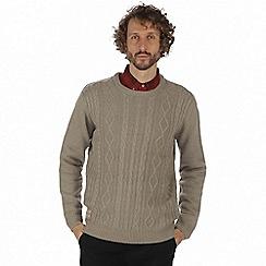 Regatta - Brown 'Koby' sweater