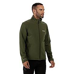 Regatta - Green 'Cera' softshell jacket