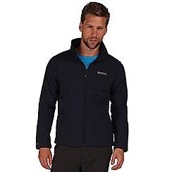Regatta - Navy cera softshell jacket