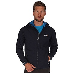 Regatta - Navy arec softshell hooded jacket