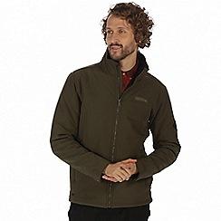 Regatta - Green 'Castiel' softshell jacket