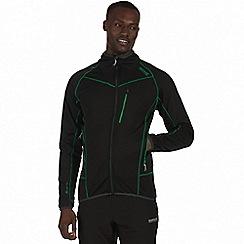 Regatta - Black 'Diego' softshell jacket