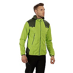 Regatta - Green 'Static' softshell jacket